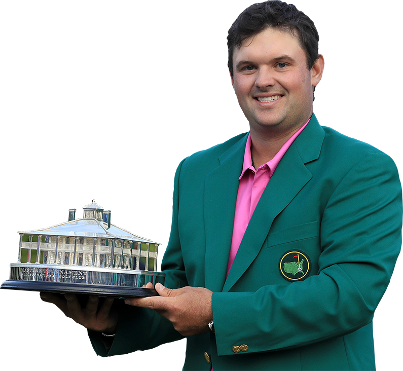 Patrick Reed standing.