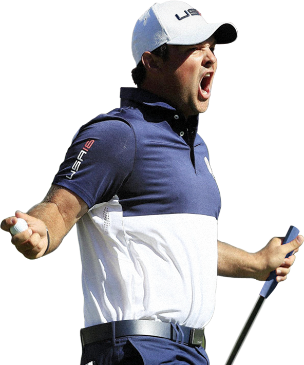 Patrick Reed Excited